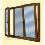 Деревянные оконные блоки из клееного бруса фото