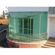 Стеклянный зимний сад. Остекление балконов. фотография