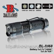 Фонарик аккумуляторный BL - 8469 Bailong фото