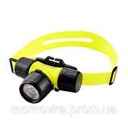Фонарик налобный фонарь Police Bailong BL-6800 1500W BL6800, купить BL 6800, желтый фото