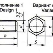 Болты с шестигранной головкой фото
