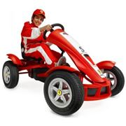 Веломобиль BERG Ferrari FXX Racer фото