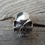 """Серебряное кольцо """"Череп"""" от WickerRing фото"""