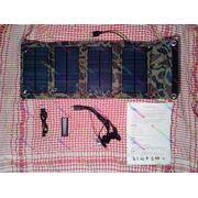 Солнечное зарядное устройство (зарядка) для сматрфона планшета 7W 5.5V 1.27 A SUN777-T7 (поликремний)