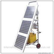 Мобильная солнечная электростанция 50 Вт