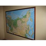 Карты рельефные фото