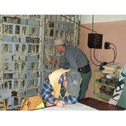 установка электропитающего оборудования фото