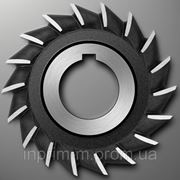Фреза дисковая трехсторонняя - 110х6х32 z34 р/з Р18 фото