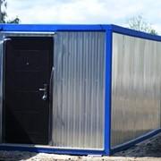 Бытовка, блок-контейнер 3х2.4х2.5 метра в Ростове-на-Дону фото