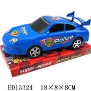 Машина инерционная полиции Гонка PatrolCar под пленк.,100442683/1188 фото