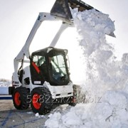 Услуга уборки и вывоз снега фото