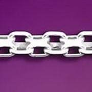 Серебрянная цепочка фото