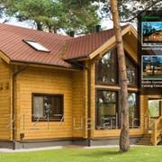 Дома из деревянного сруба фото