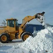 Вывоз снега фото