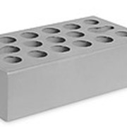 Кирпич керамический облицовочный (лицевой) пустотелый Серебро Гладкий 1 NF фото