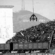 Реализация лома черных металлов. фото