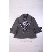 Пиджак для девочки с шарфиком Ahsen Morva Ак99 Э фото