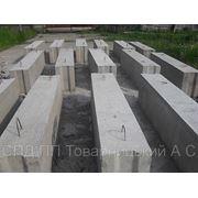 Блоки фундаментні бетонні 240х0,60х0,40. фото