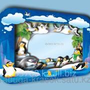 Объемная фоторамка Пингвины фото
