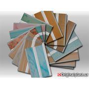Панели из ПВХ цветные ширина 125 см фото