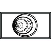 Кольца резиновые для уплотнения канализационных труб из НПВХ фото