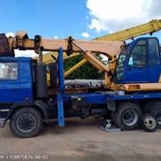 Аренда услуги Экскаватора колесного TATRA UDS114R 0.63м3 фото
