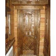 Деревянные входные двери на заказ фото