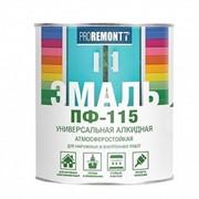 ЭМАЛЬ ПФ-115 PROREMONT 0.9 кг Зелёный фото