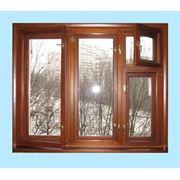 Деревянные окна по финской технологии фото