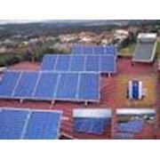 Монтаж солнечных фотоэлектрических систем фото