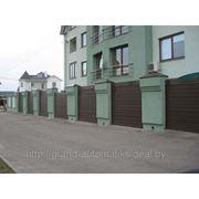 Роллеты для гаражных и въездных ворот (рулонные ворота) фото