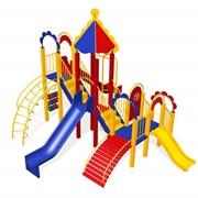 Комплексы спортивно-игровые детские. фото