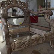 Услуги по реставрации антикварной мебели фото