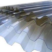 Прозрачный шифер Salux (профилированный ПВХ лист) 1,1х1090х2000мм фото