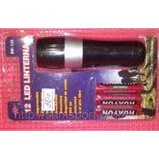Ручной фонарик 12 светодиодов фото