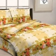 Ткань постельная Бязь 125 гр/м2 150 см Набивная Силуэтная клетка 3629-2/S055 TDT фото