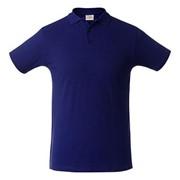 Рубашка поло мужская SURF синяя, размер XXL фото