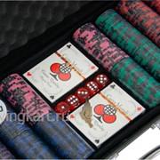 Покерный набор на 500 фишек с номиналом ГД6 - 500 фото