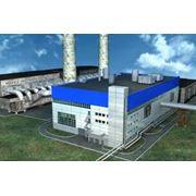 Монтаж ТЭС с газопоршневыми двигателями газовыми турбинами фото