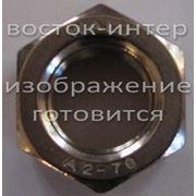 Гайка нержавеющая М 24 сталь А2, А4 фото