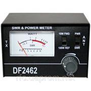КСВ-метр, диапазон 1,5-150МГц, K-SWR DF-2462 фото