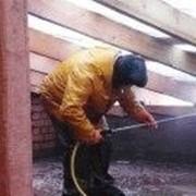 Огнезащитная обработка . фото