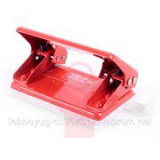 Дырокол с ограничителем Kangaro 12 листов красный DP-480 GP. (2515004) фото
