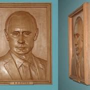 Портрет Путина фото