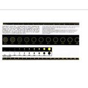 Контрольная шкала & визуальный компаратор UTE-3 фото