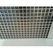 Ячеистый потолок 75х75 н=30 суперхром (зеркальный) фото