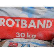 Ротбанд (ROTBAND) — штукатурка гипсовая, Латвия, 30 кг фото