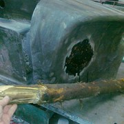 Ремонт бензобаков, ремонт автомобиля фото