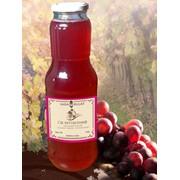 Сок виноградный розовый фото