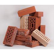 Купить кирпич силикатный, кирпич керамический в Минске фото